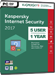 Kaspersky Internet Security 2017 (5 Users / 1 Year)