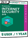 Kaspersky Internet Security 2017 (2 Users / 1 Year)