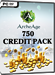 ArcheAge - 750 Credit Pack