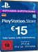 PSN Card 15 Euro [DE] - Playstation Network Credit