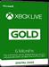 Xbox Live Gold - 6 month subscription [EU]