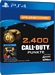 Call of Duty Black Ops 4 2400 Points PS4