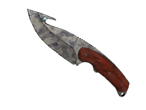 ★ StatTrak™ Gut Knife | Stained (Well-Worn)