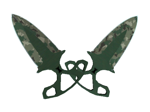 ★ StatTrak™ Shadow Daggers | Forest DDPAT (Well-Worn)