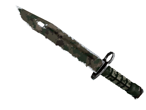 ★ StatTrak™ Bayonet | Forest DDPAT (Well-Worn)
