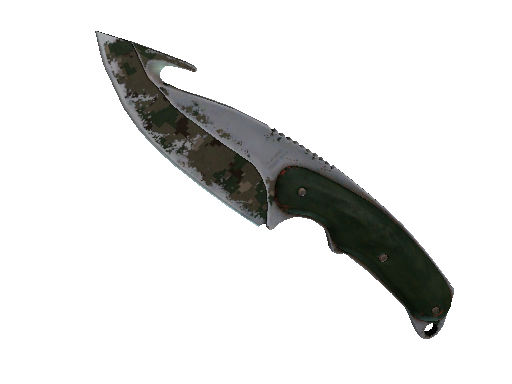 ★ Gut Knife | Forest DDPAT (Battle-Scarred)