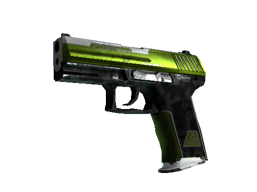StatTrak™ P2000 | Turf (Well-Worn)