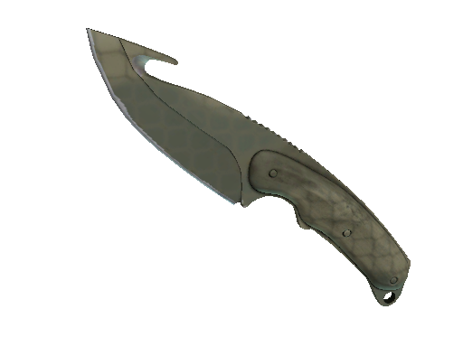★ StatTrak™ Gut Knife | Safari Mesh (Minimal Wear)