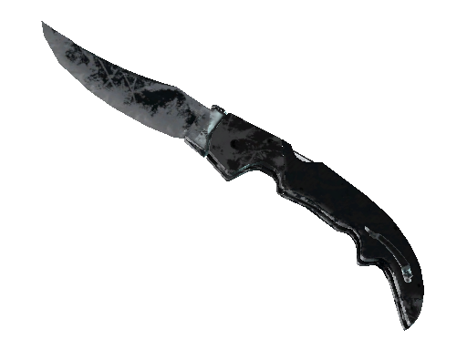 ★ StatTrak™ Falchion Knife | Night (Battle-Scarred)
