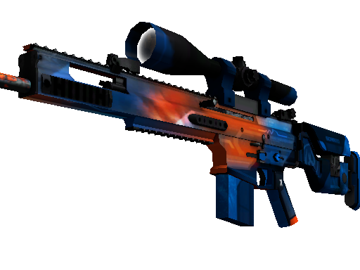 StatTrak™ SCAR-20 | Cardiac (Field-Tested)