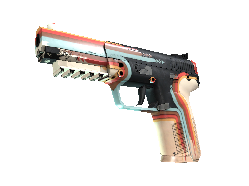 StatTrak™ Five-SeveN | Retrobution (Well-Worn)