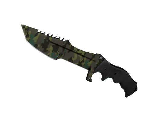 ★ Huntsman Knife | Boreal Forest (Well-Worn)