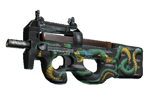 P90 | Emerald Dragon (Minimal Wear)