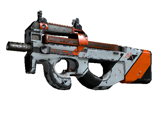 P90 | Asiimov (Battle-Scarred)