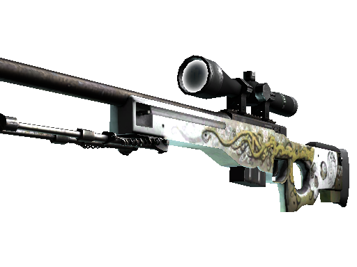 StatTrak™ AWP | Worm God (Well-Worn)