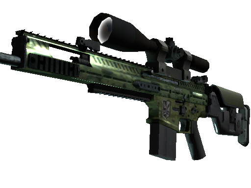 StatTrak™ SCAR-20 | Green Marine (Factory New)