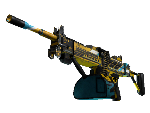 StatTrak™ Negev | Power Loader (Battle-Scarred)
