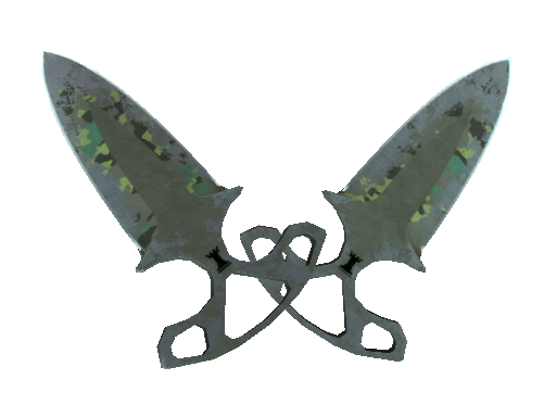 ★ Shadow Daggers | Boreal Forest (Battle-Scarred)
