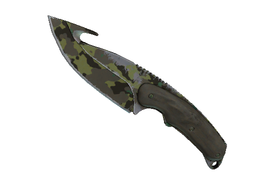 ★ StatTrak™ Gut Knife | Boreal Forest (Field-Tested)