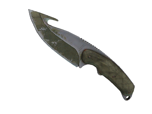 ★ Gut Knife | Safari Mesh (Battle-Scarred)
