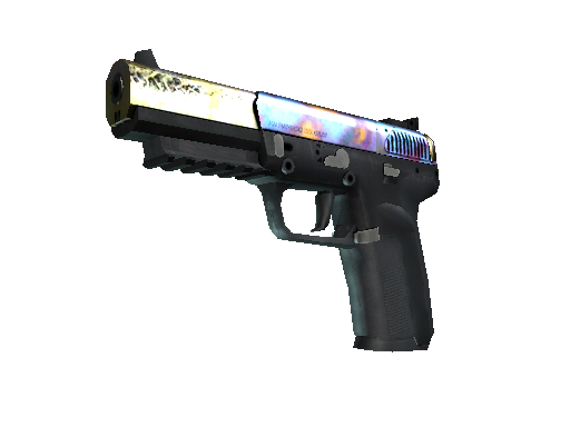 Five-SeveN | Case Hardened (Well-Worn)