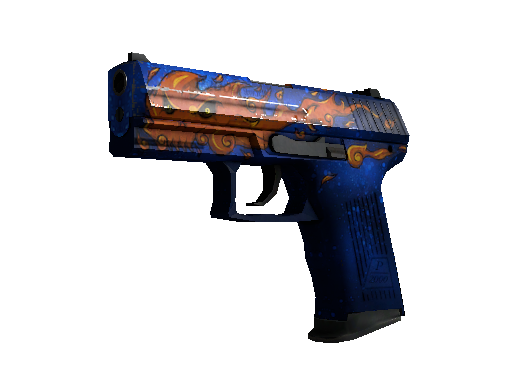 StatTrak™ P2000 | Fire Elemental (Well-Worn)