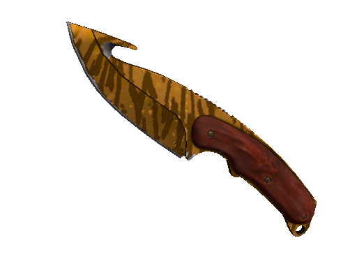 ★ Gut Knife | Tiger Tooth (Minimal Wear)