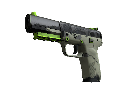 Souvenir Five-SeveN | Hot Shot (Well-Worn)