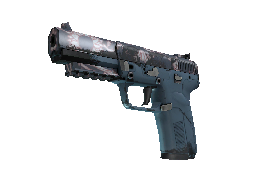 StatTrak™ Five-SeveN | Nightshade (Well-Worn)
