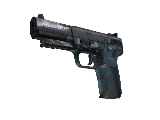 StatTrak™ Five-SeveN | Nightshade (Battle-Scarred)