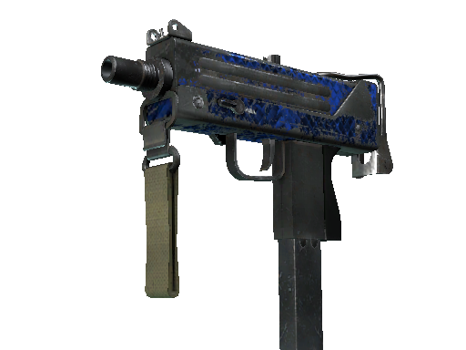 MAC-10 | Lapis Gator (Battle-Scarred)