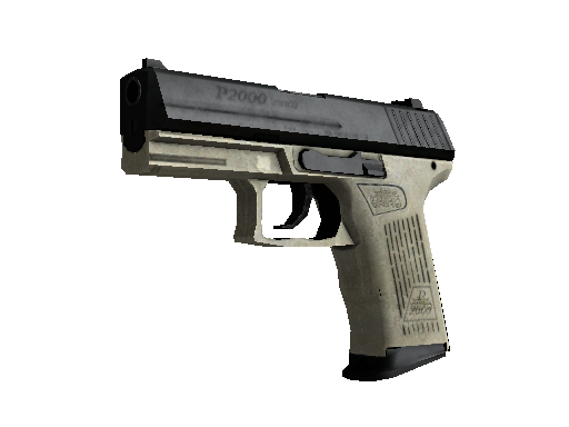 StatTrak™ P2000 | Ivory (Well-Worn)
