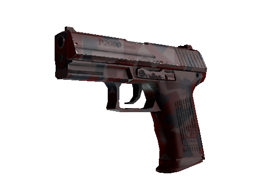 StatTrak™ P2000 | Red FragCam (Minimal Wear)