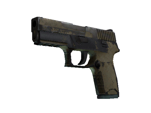 Souvenir P250 | Sand Dune (Battle-Scarred)