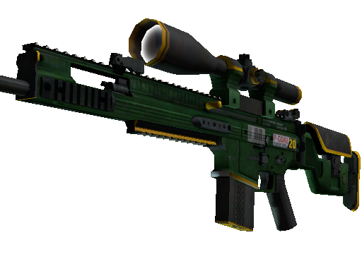 StatTrak™ SCAR-20 | Powercore (Battle-Scarred)