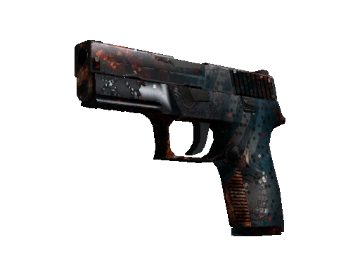 StatTrak™ P250 | Supernova (Well-Worn)