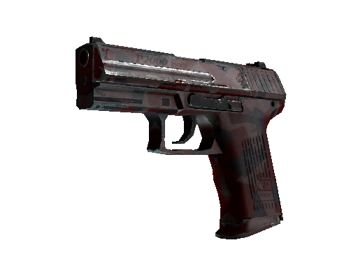 StatTrak™ P2000 | Red FragCam (Well-Worn)
