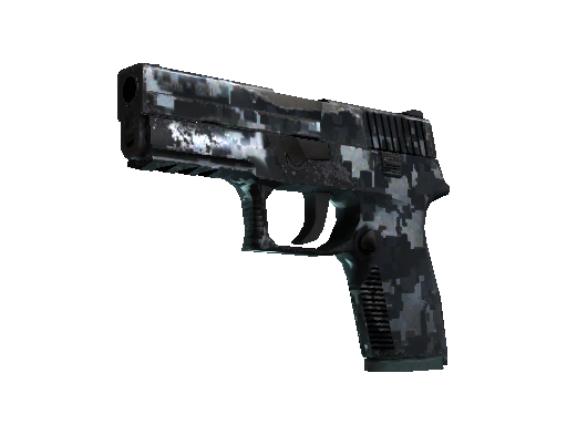 P250 | Steel Disruption (Field-Tested)