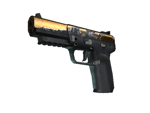 Five-SeveN | Copper Galaxy (Field-Tested)