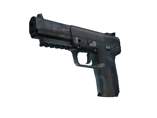Souvenir Five-SeveN | Forest Night (Battle-Scarred)