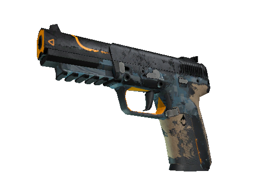 StatTrak™ Five-SeveN | Triumvirate (Battle-Scarred)