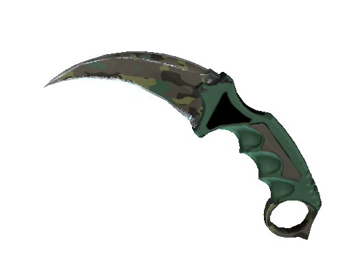 ★ Karambit | Boreal Forest (Well-Worn)