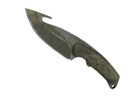 ★ StatTrak™ Gut Knife | Safari Mesh (Well-Worn)