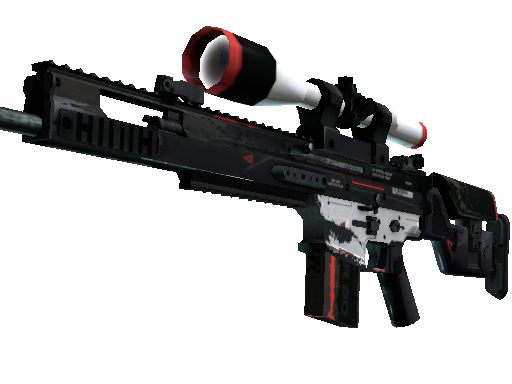 SCAR-20 | Cyrex (Well-Worn)