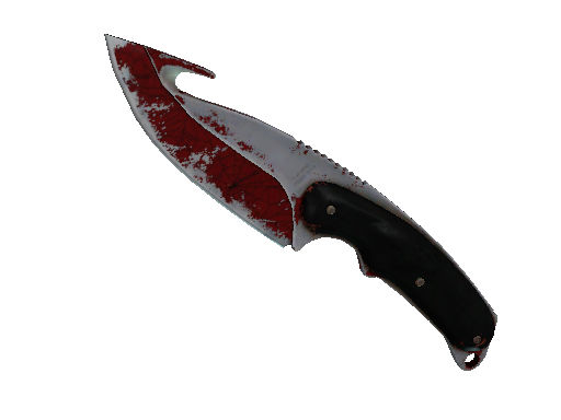 ★ Gut Knife | Crimson Web (Battle-Scarred)
