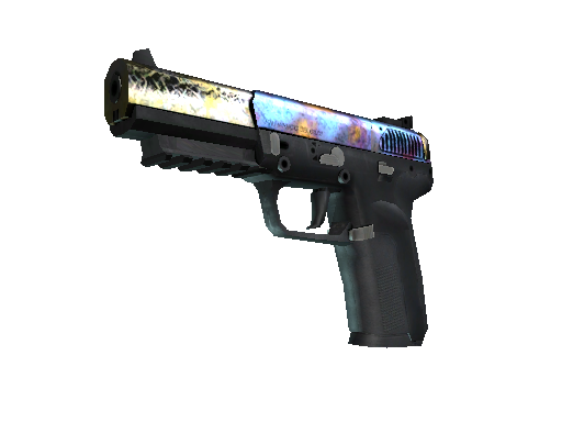 StatTrak™ Five-SeveN | Case Hardened (Battle-Scarred)