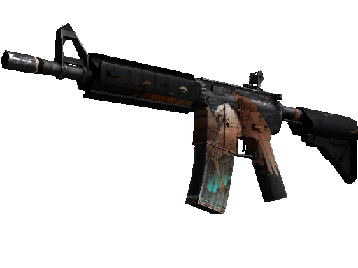 StatTrak™ M4A4 | Griffin (Well-Worn)