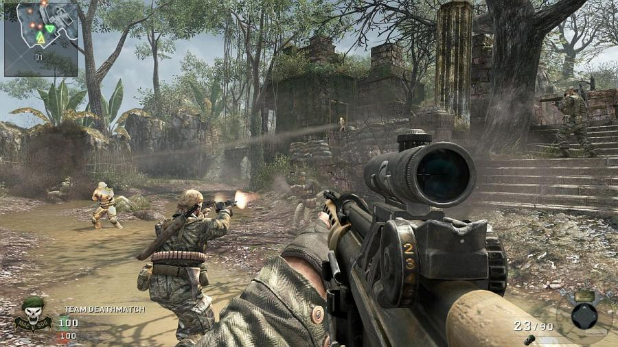 скачать игру Call Of Duty Black Ops 1 через торрент на русском языке - фото 3