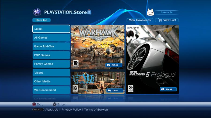 Playstation Network Card PSN Key 35 Pound [UK] Screenshot 2