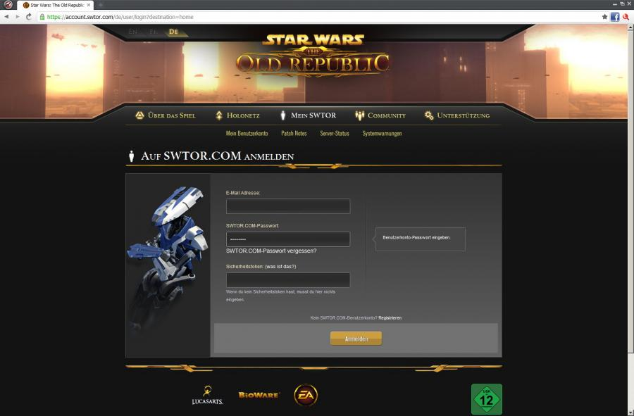 SWTOR - Gamecard Prepaid 60 days Screenshot 1